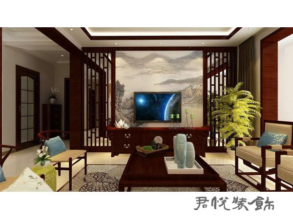 中式风格-滨河现代城